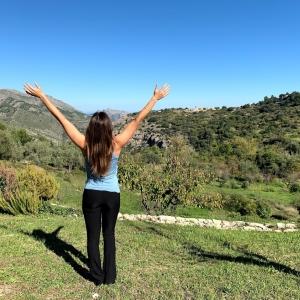 mujer libre en solterreno